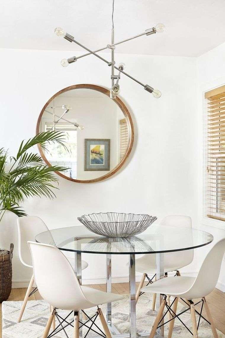 decoración moderna vidrio