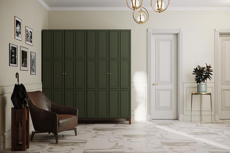 decoración pasillos-armario-ideas-estilo