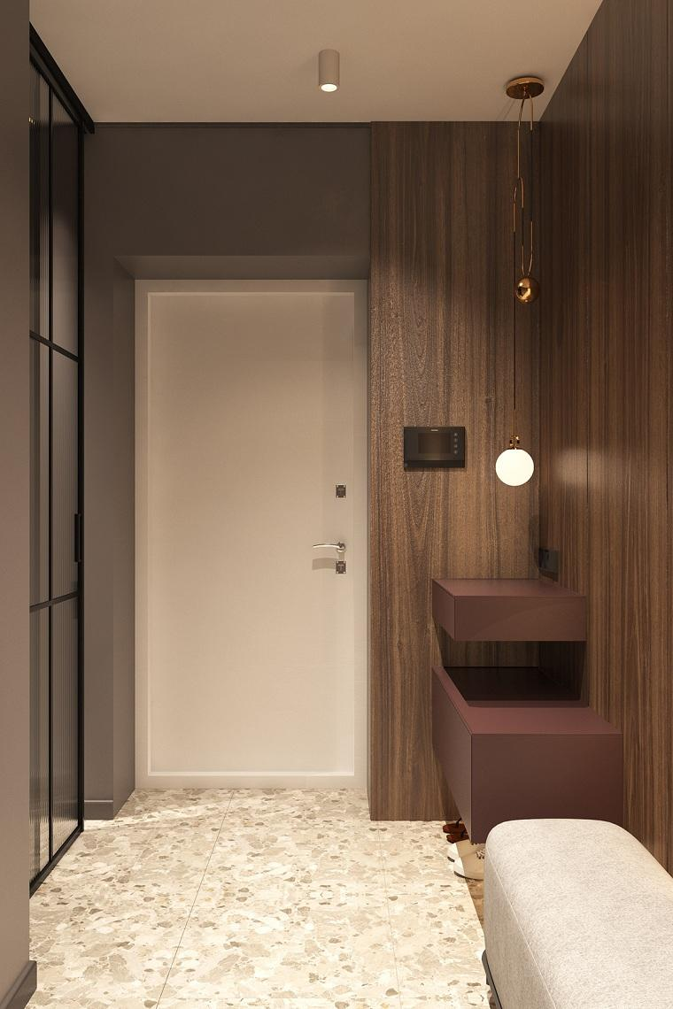 decoracion-pasillos-entradas-banco-comodo