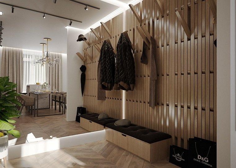 decoracion-pasillos-entradas-colgar-chaquetas