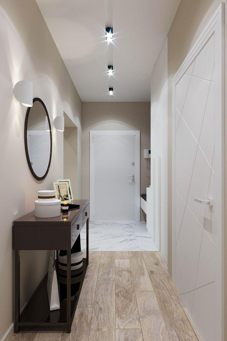 decoración pasillos-entradas-ideas-muebles