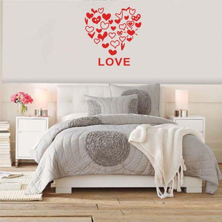 decoración san valentín pared