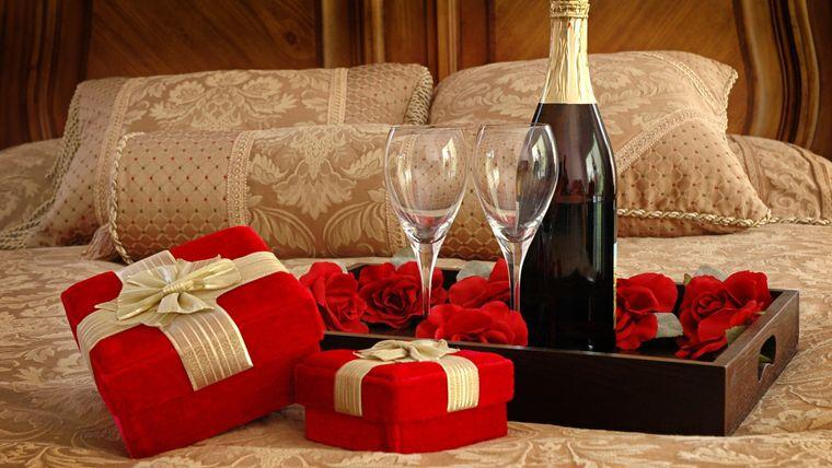 decoración san valentín regalo