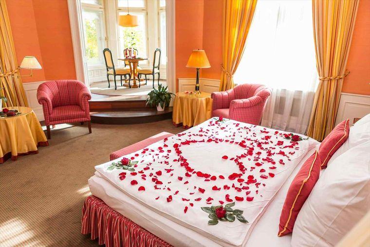 decoración san valentín romantico