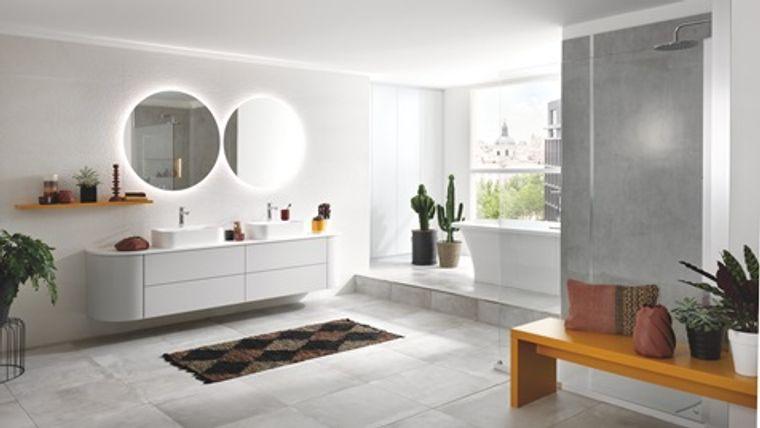 decoración zen baño