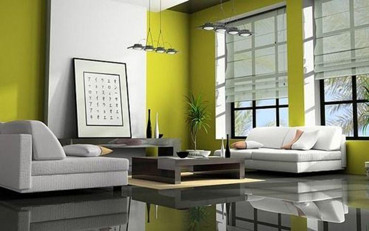 decoración zen color