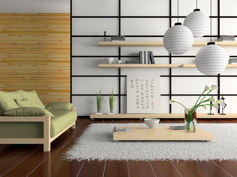 decoración zen lineas