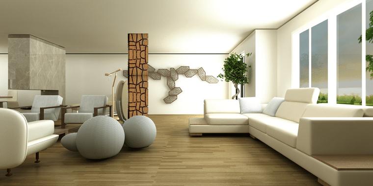 decoración zen simple