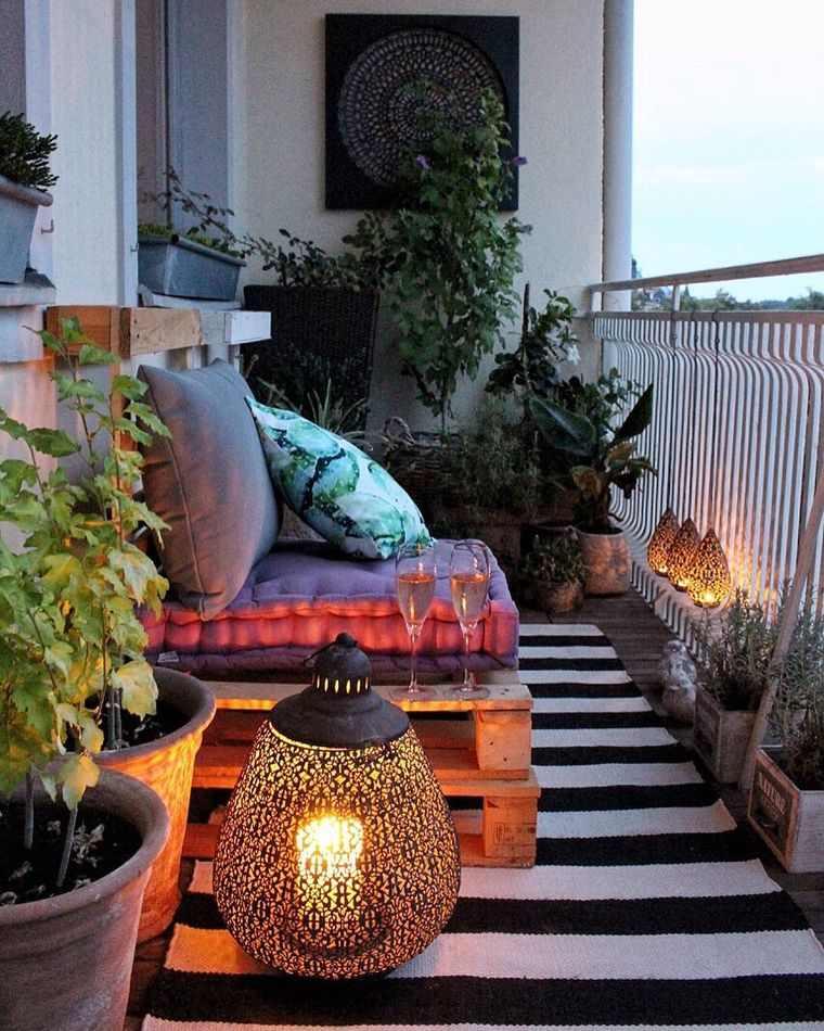 Decorar balcón pequeño 2020 – Consejos e ideas para transformar un pequeño espacio