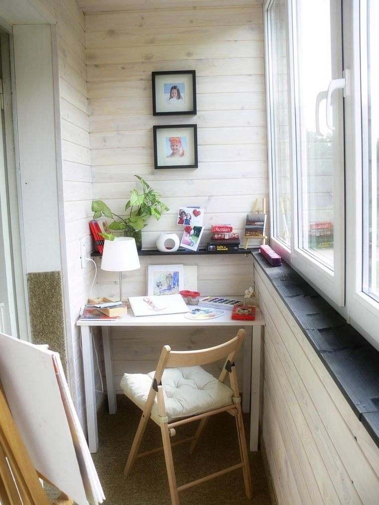 decorar balcón pequeño multiuso