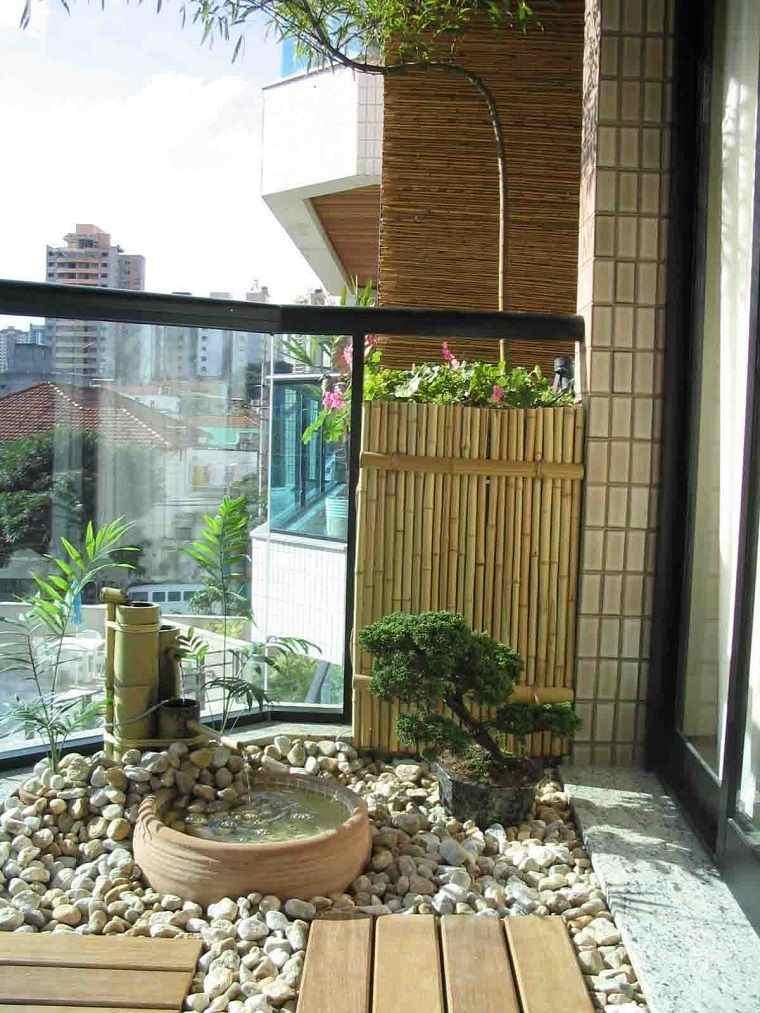 decorar balcón pequeño tranquilidad