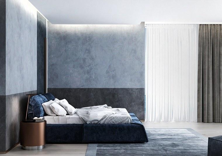 dormitorio-azul-combinacion-gris