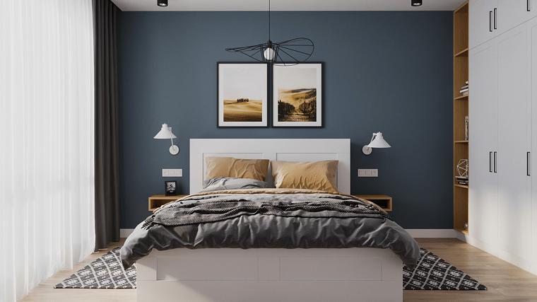 dormitorio azul-ideas-pintar-pared