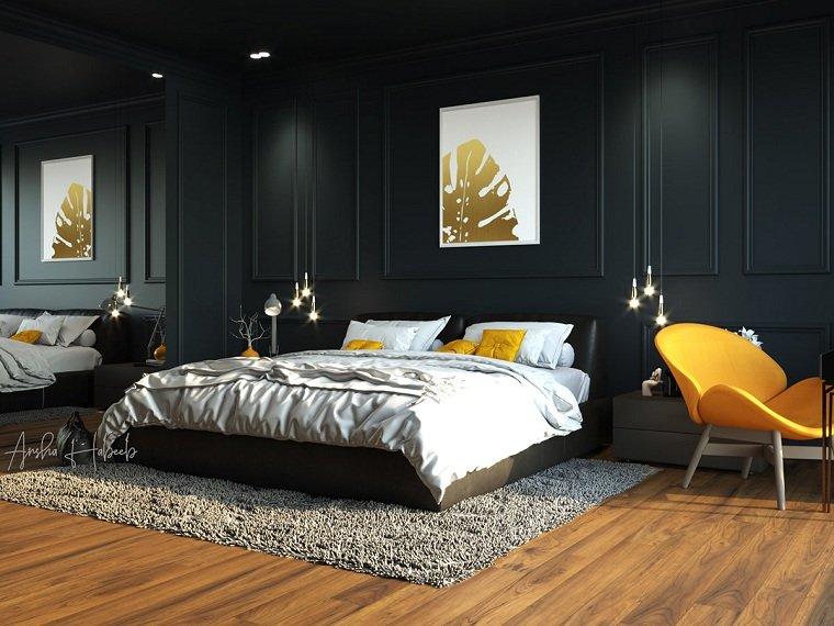dormitorio azul-oscuro-ideas