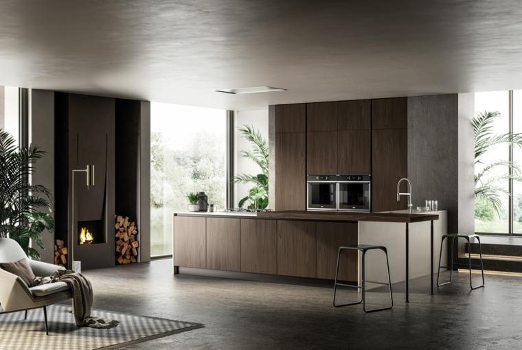 espacios-amplios-cocinas-modernas-ideas