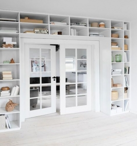 estantes modernos almacenar