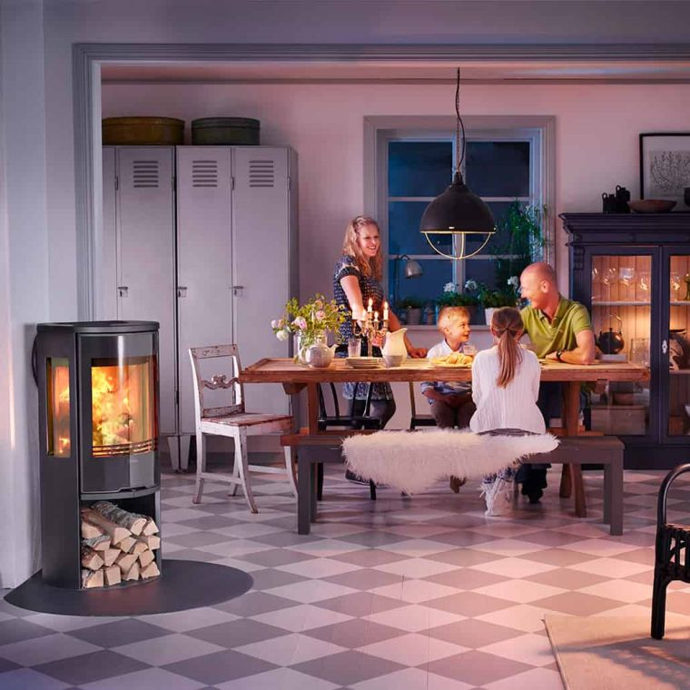 estufas de leña familia