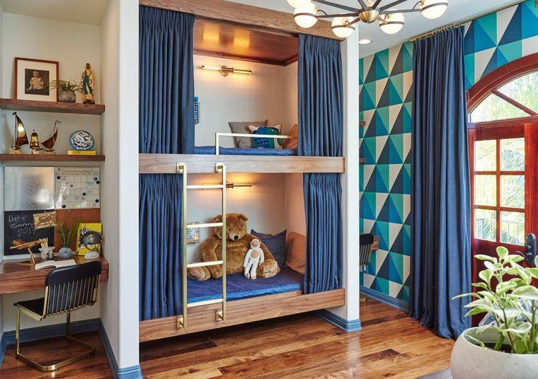 habitaciones para compartir azul