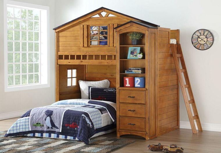 habitaciones para compartir cama alta