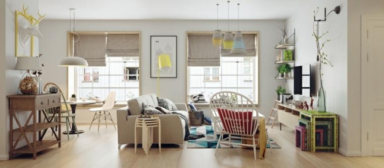 ideas-de-decoración-de-interiores-acentos-coloridos