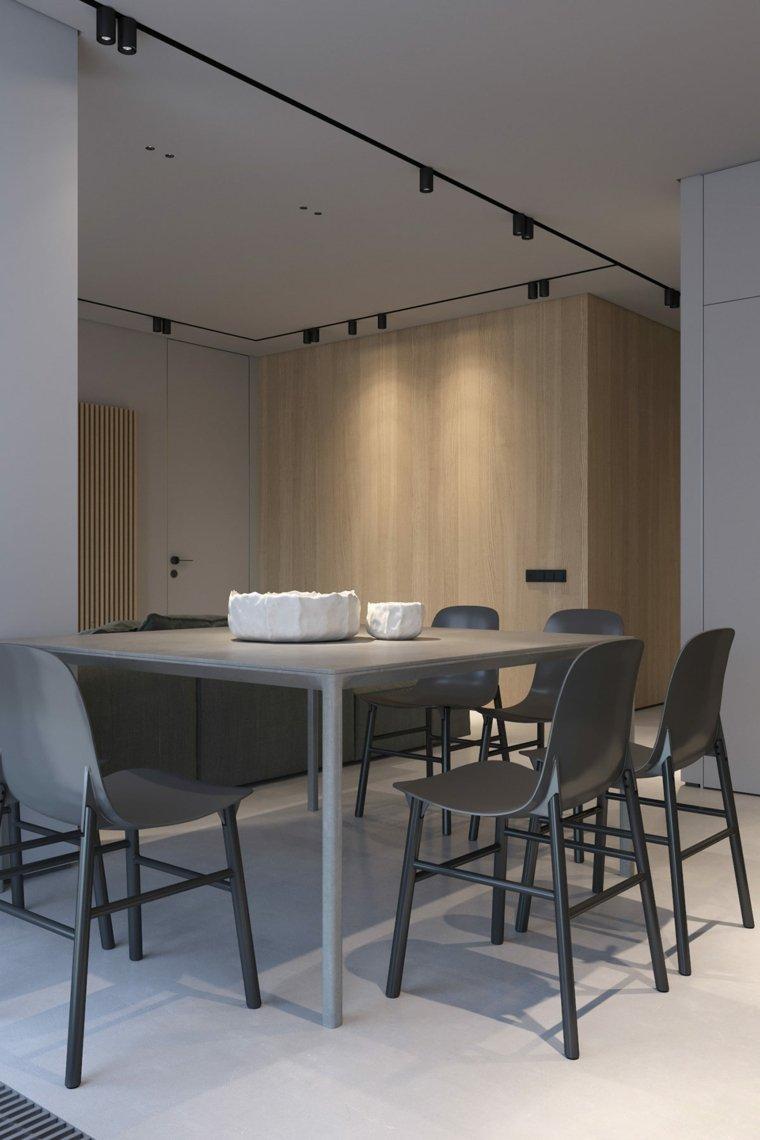 ideas de decoración de interiores-estilo-comedor