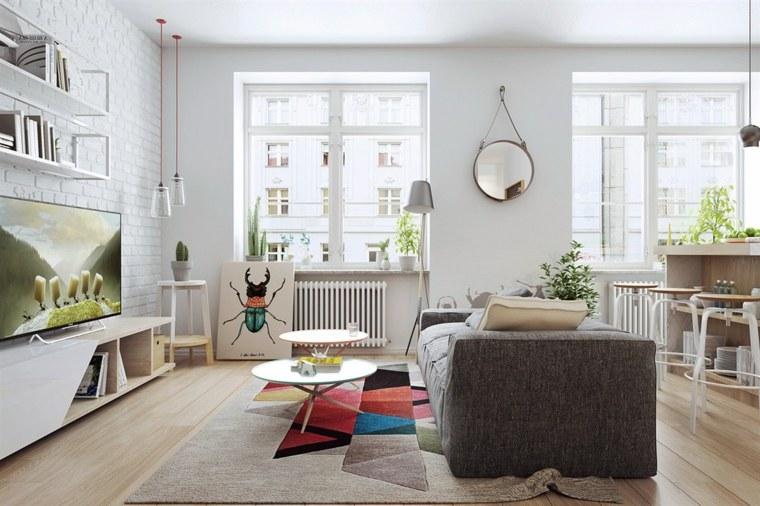 ideas de decoración de interiores-nordico-colorido