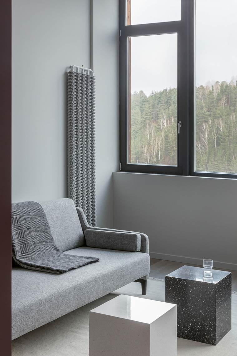 ideas-de-decoración-de-interiores-sofa-gris