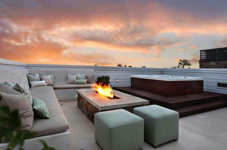 ideas-disenar-terraza-2020-pozo-fuego