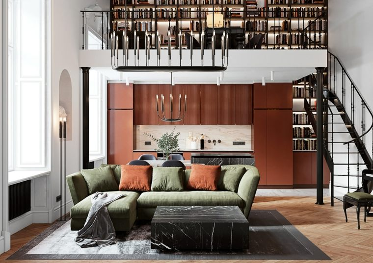 ideas-espacios-coloridos-sala-cocina-estilo