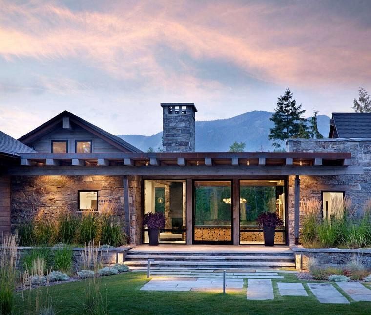 Iluminación jardín casa-montana-brandt-construction