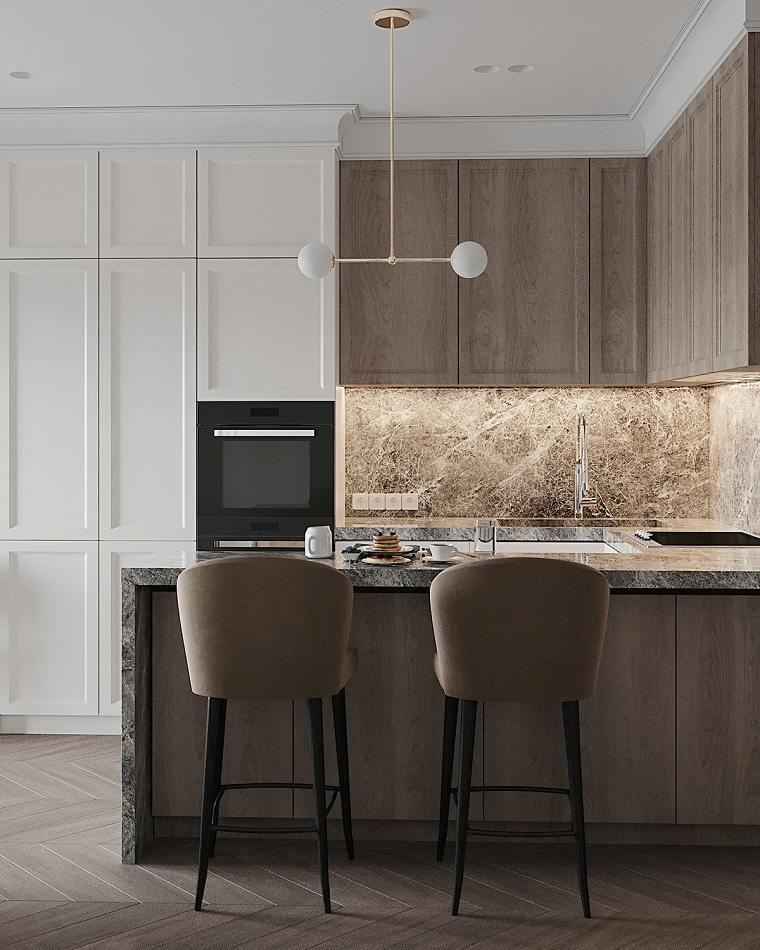 Iluminación para cocinas -lamparas techo