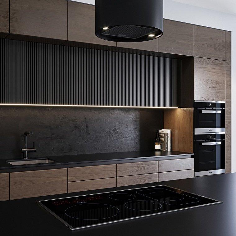 iluminacion-para-cocinas-muebles-madera