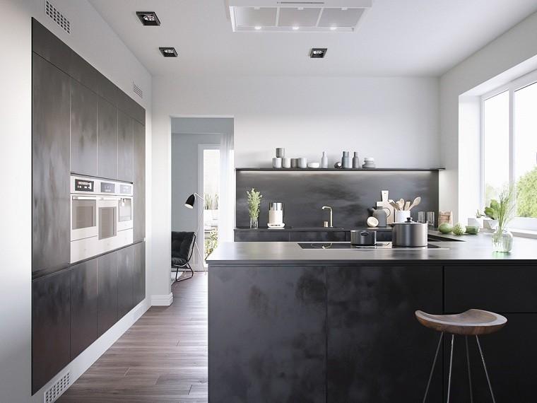 isla-cocina-muebles-negros