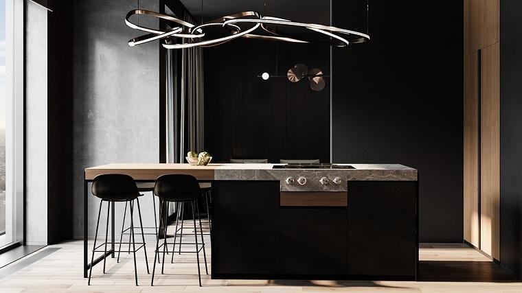 isla-ideas-cocina-amplia-moderna