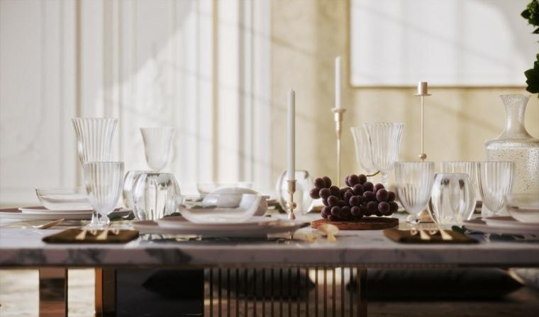 mesa-comedor-marmol-blanco