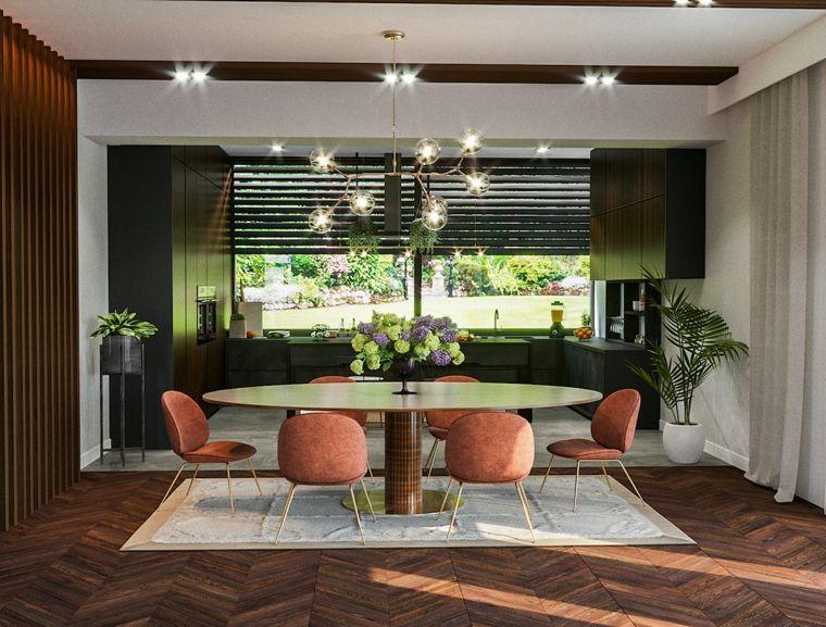 mesa-grande-ovalada-estilo-ideas