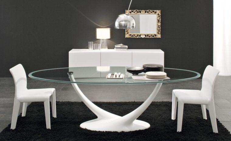 mesas de comedor blanco