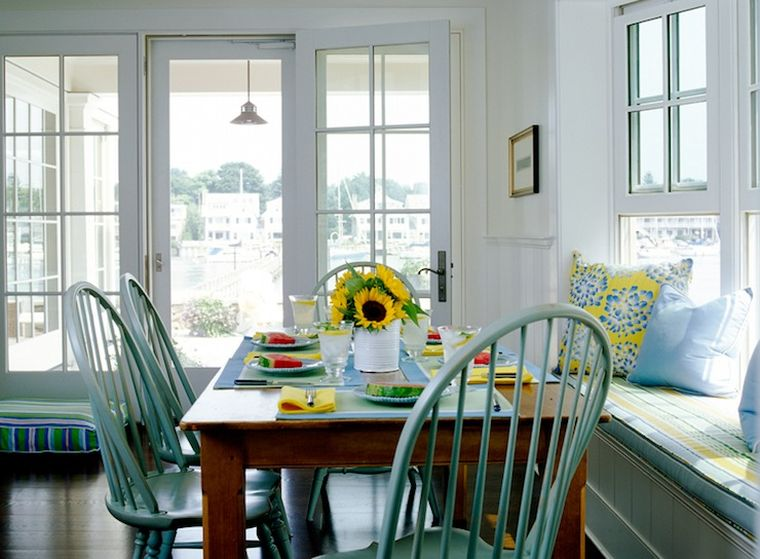 mesas de comedor casa campo