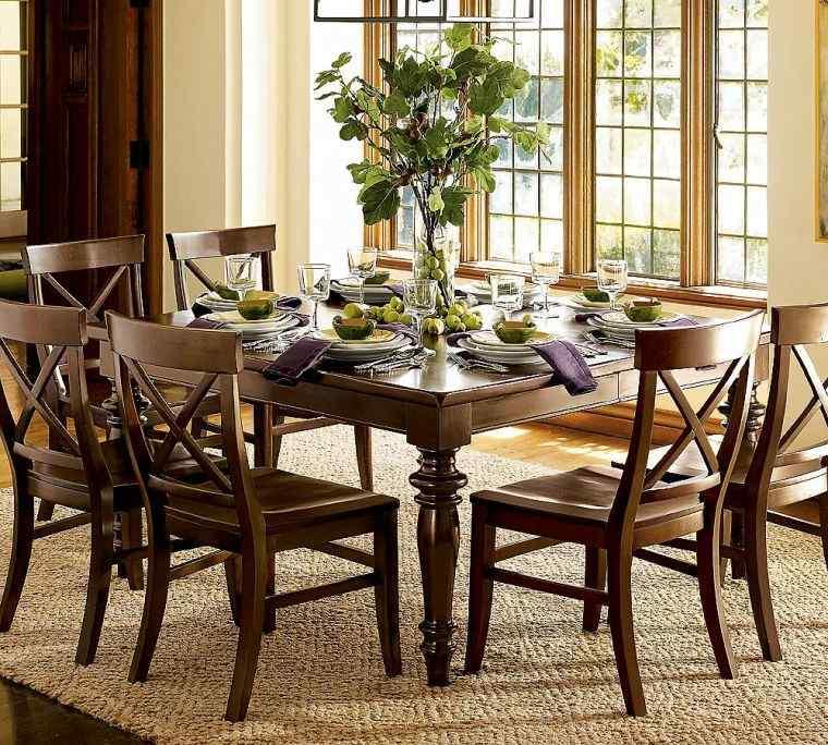 mesas de comedor cuadrada