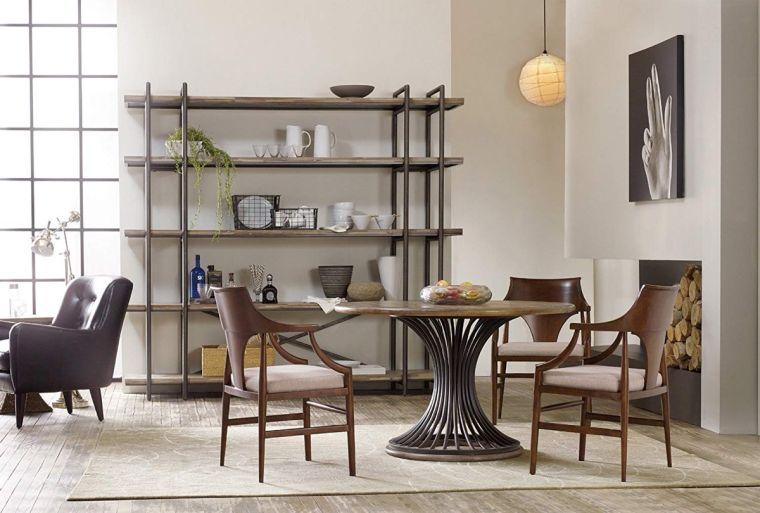 mesas de comedor estilo industrial