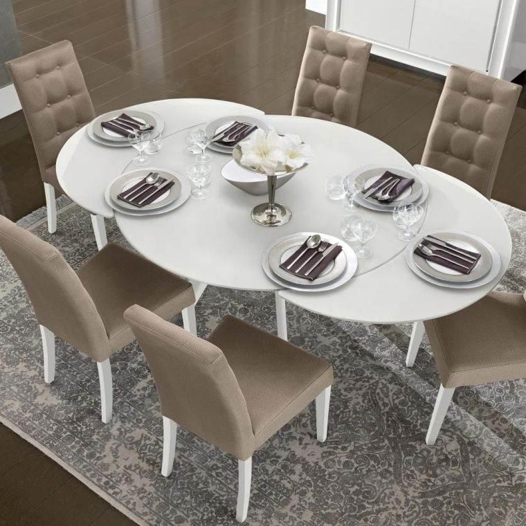 mesas de comedor forma