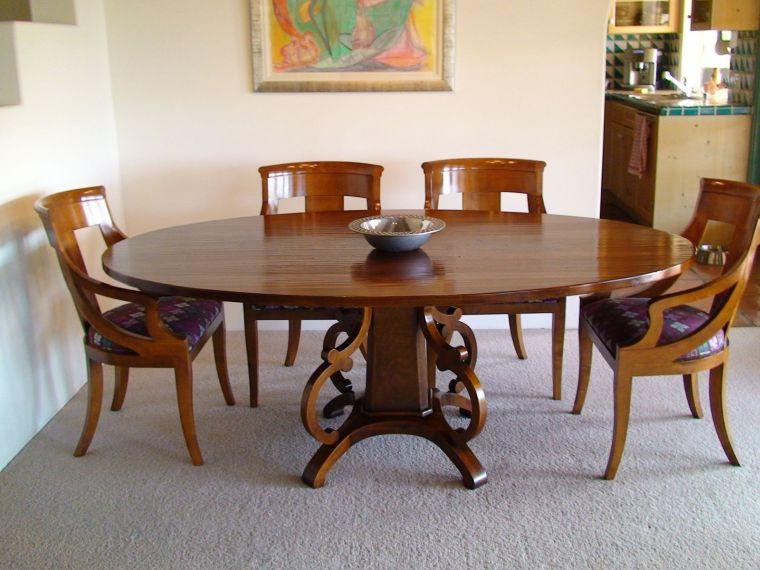 mesas de comedor pulida