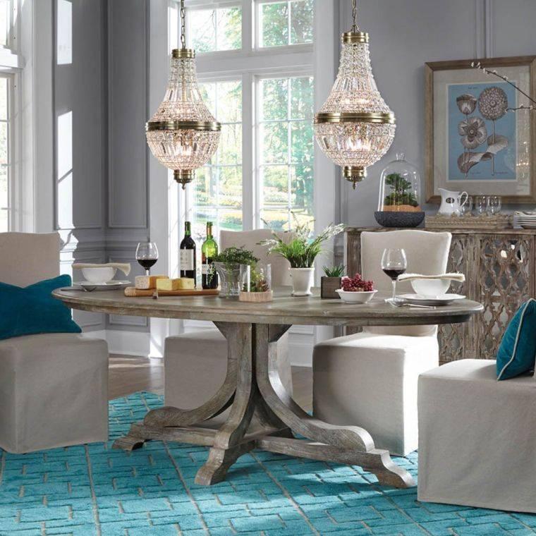 mesas de comedor textura