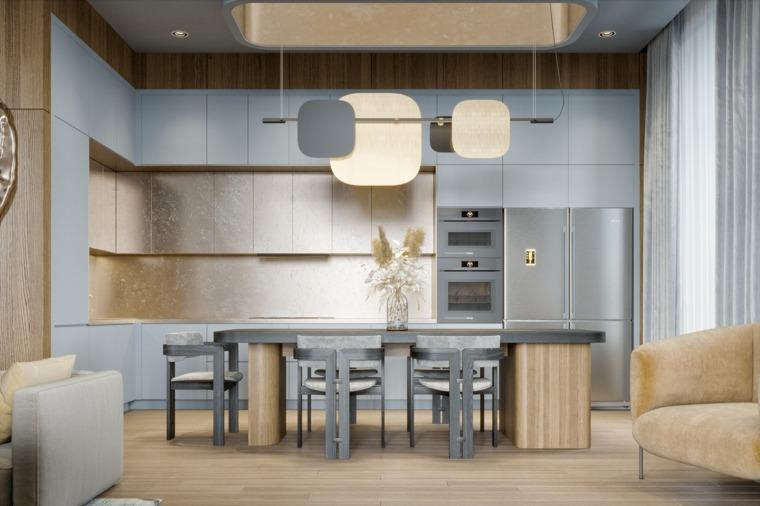 muebles-color-azul-claro-estilo