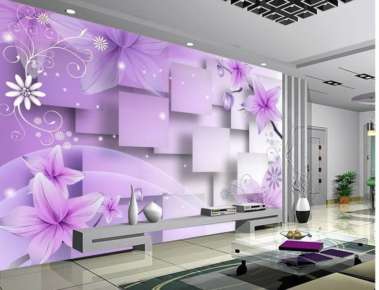 papel pintado flore cubos