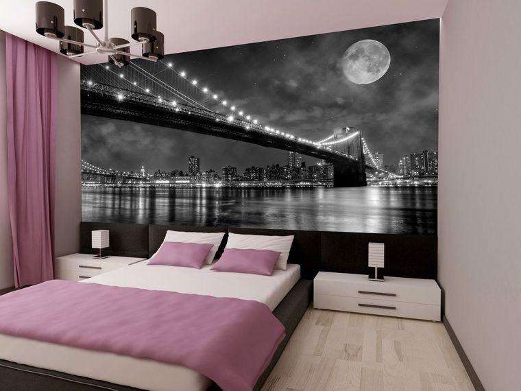 papel pintado puente