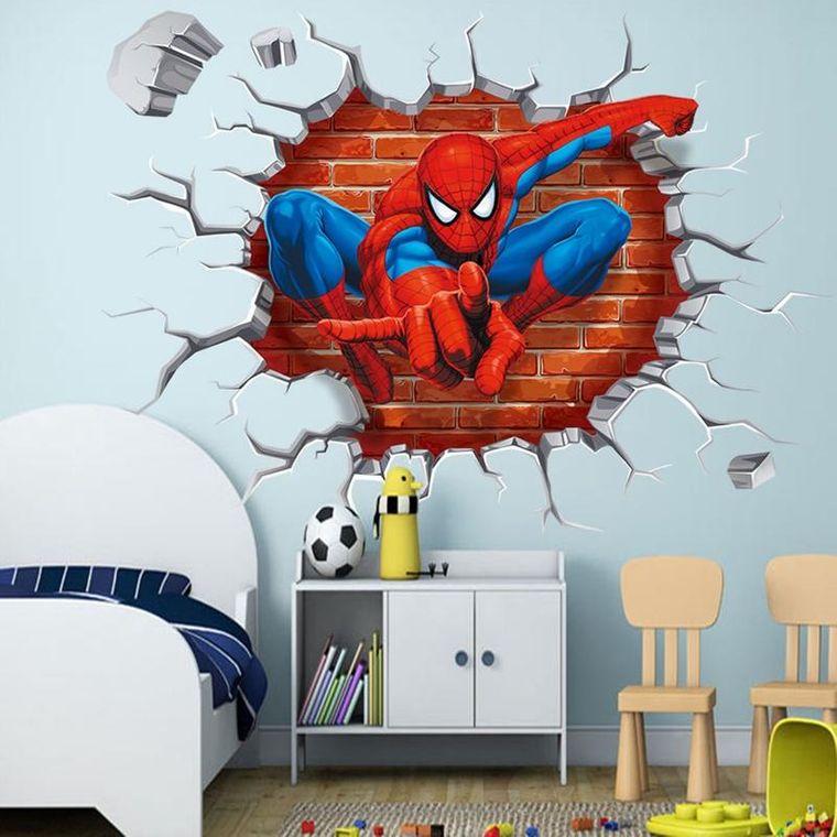 papel pintado spiderman