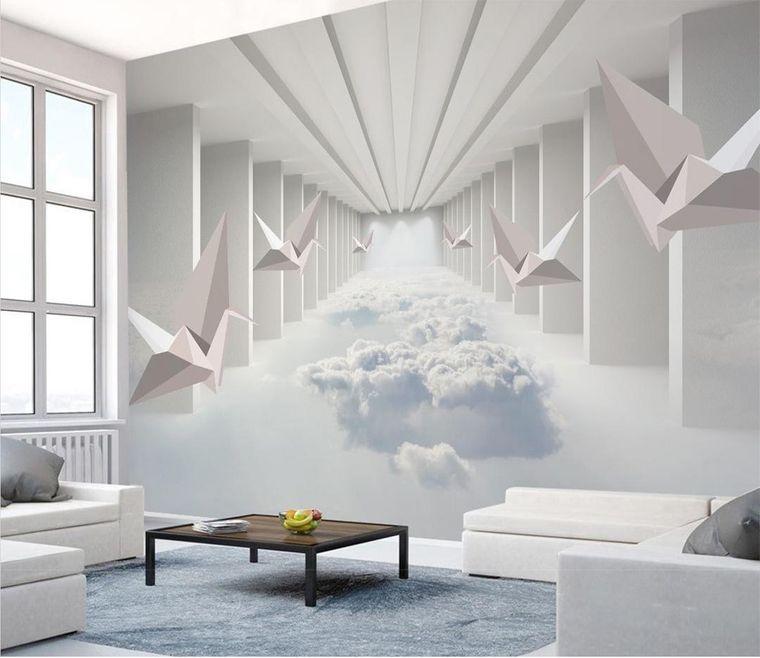 papel tapiz blanco