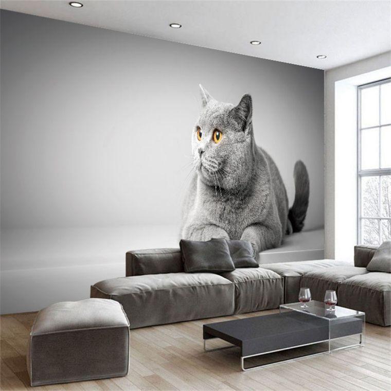 papel tapiz gato