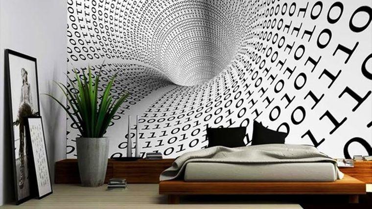 papel tapiz monocromatico